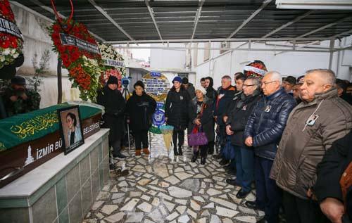 Ukrayna'da öldürülen Zeynep Hüsünbeyi uğurlandı 1.resim
