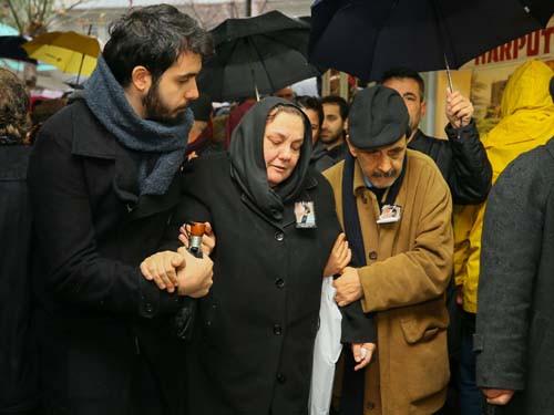 Ukrayna'da öldürülen Zeynep Hüsünbeyi uğurlandı 2.resim