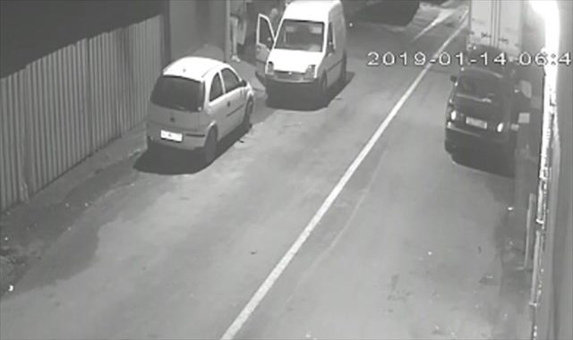 İstanbul'da hırsızlık girişimi