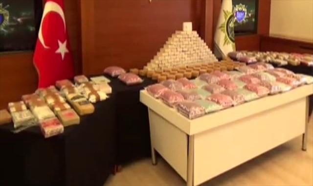 3 çocuklu aile, 115 kilo uyuşturucuyla yakalandı