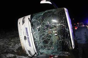 Amasya'da belediye otobüsü devrildi! Ölü ve yaralılar var...