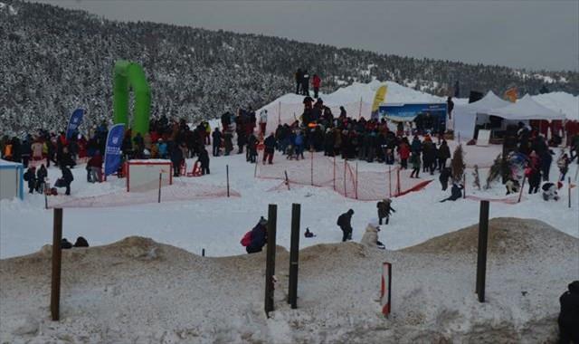 Uludağ'da kış şenliği