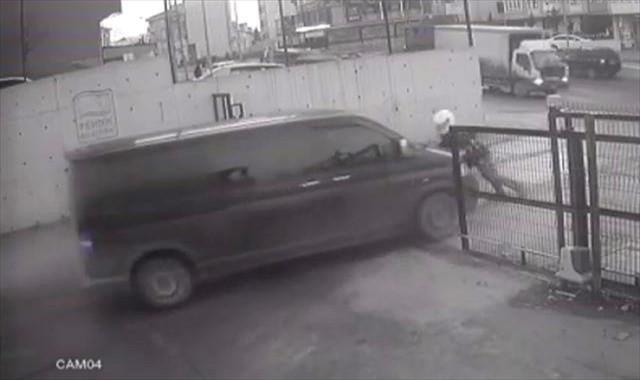 Hırsızlara ölümüne direniş kamerada