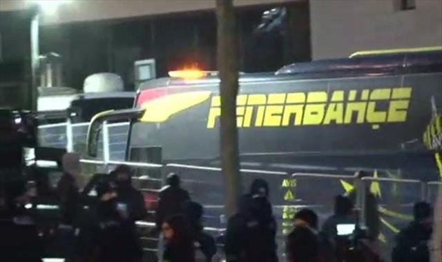 Fenerbahçe stada ulaştı