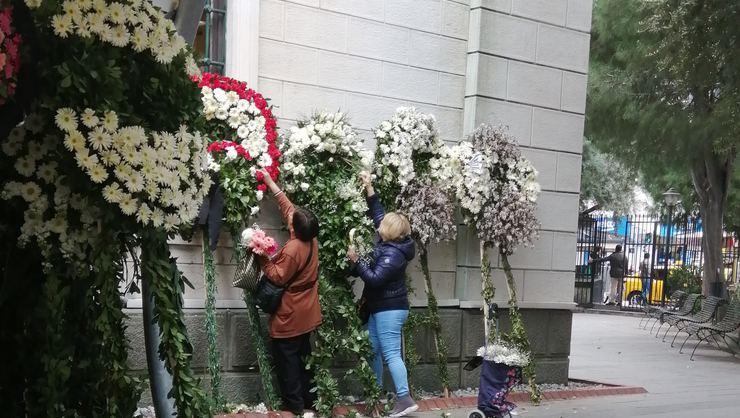 Zafer Çika'nın cenazesinde büyük saygısızlık 2.resim