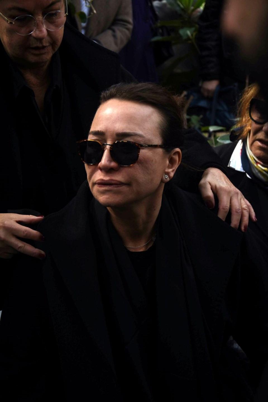 Zafer Çika'nın cenazesinde büyük saygısızlık 4.resim