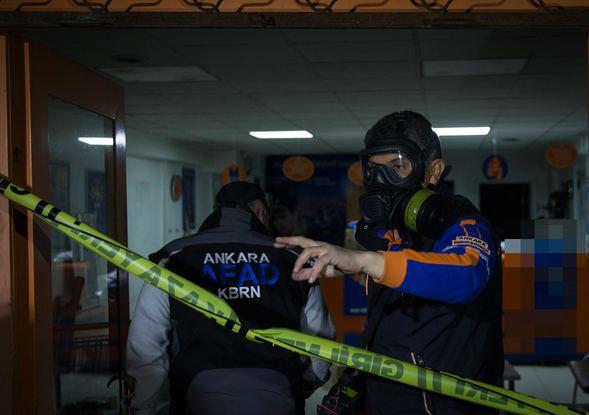 Kargo şubesinde zehirli gaz paniği 2.resim