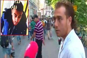 Sokak röportajında muhabiri taciz eden kişi Tanış mı?