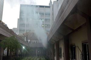 Çukurova Üniversitesi Tıp Fakültesi Balcalı Hastanesi'nde yangın