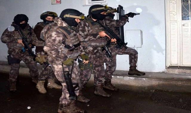 Sosyal medyadan PKK propagandası yapanlara operasyon