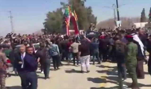 Irak Cumhurbaşkanı Salih Musul'da öfkeyle karşılandı