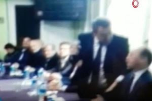 İP´li Belediye Başkan Adayı Kemal Emir İstiklal Marşı´nı okuyamadı