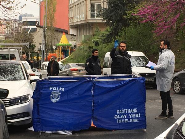 Kağıthane'de cinayet...Tartıştığı damadını sokak ortasında vurarak öldürdü 4.resim