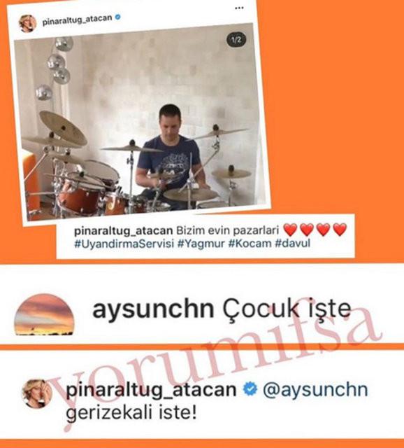 Pınar Altuğ yine çıldırdı! Gerizekalı işte 3.resim