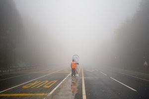 Bolu Dağı'nda nisan karı