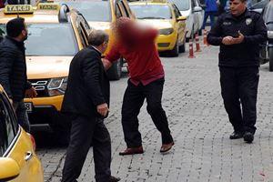 Şehrin göbeğinde korkutan kavga: Kanlar içinde kaldı
