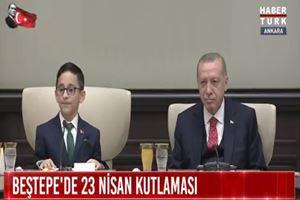 Cumhurbaşkanı Erdoğan'ı güldürdü! Benim vereceğim cevapları veriyor