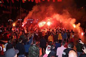 Galatasaray'ın 22. şampiyonluğu kutlanıyor