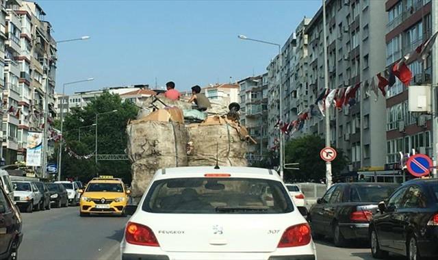 İzmir'de ölüme davetiye çıkaran yolculuk