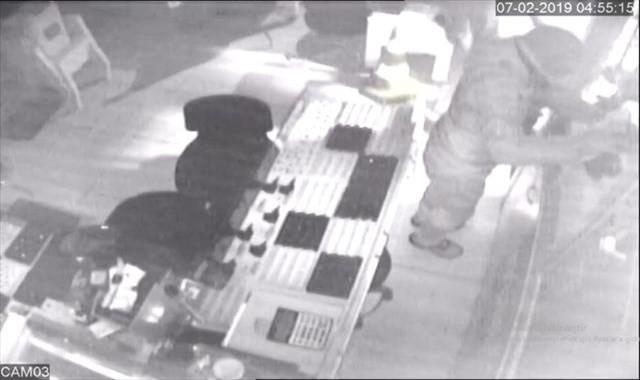 1 milyon liralık kuyumcu soygunu güvenlik kamerasında
